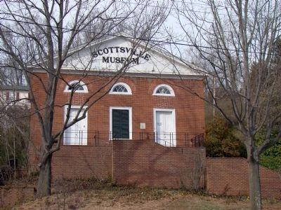 Scottsville Museum image. Click for full size.