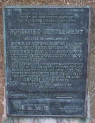 Fortified Settlement Marker image. Click for full size.