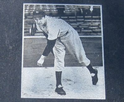 Picture of Lefty Gomez on Marker image. Click for full size.