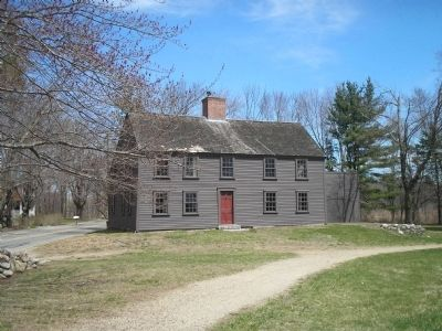 Josiah Meriam House Circa 1663 image. Click for full size.