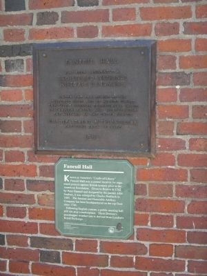 Faneuil Hall Markers Photo, Click for full size