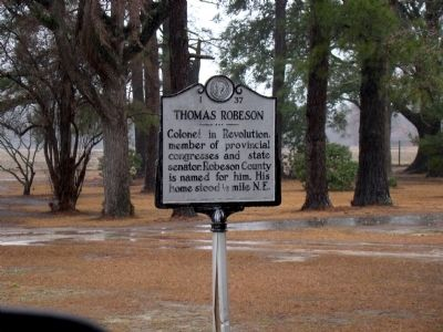 Thomas Robeson Marker image. Click for full size.