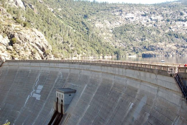 O'Shaughnessy Dam image. Click for full size.