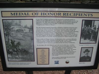 Medal of Honor Recipients Marker image. Click for full size.