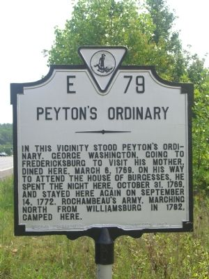 Peyton's Ordinary Marker Photo, Click for full size