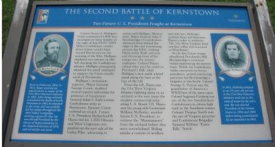 The Second Battle of Kernstown Marker image. Click for full size.