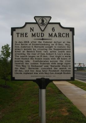 The Mud March Marker image. Click for full size.
