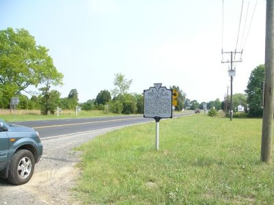 Mosby's Raid at Catlett's Station Marker image, Click for more information