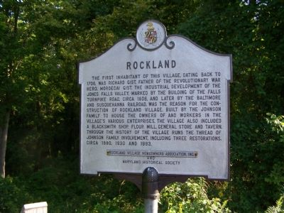 Rockland Marker image. Click for full size.