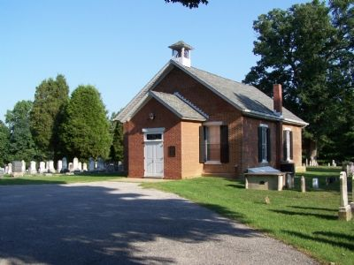Sater's Church and Cemetery image. Click for full size.