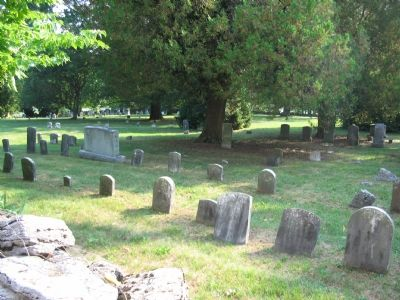 The Cemetery at the Meeting House Photo, Click for full size