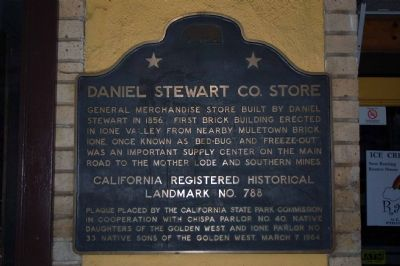Daniel Stewart Co. Store Marker image. Click for full size.