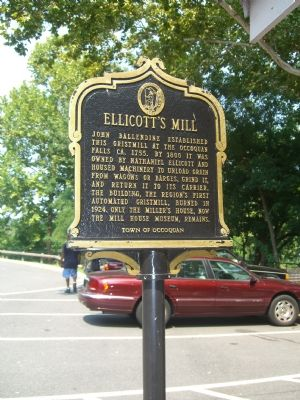 Ellicott's Mill Marker (Obverse) image. Click for full size.