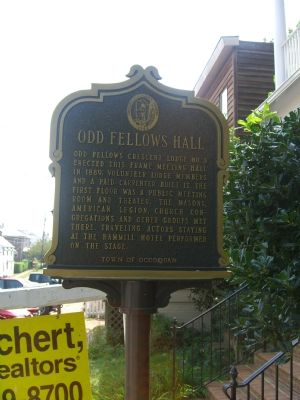 Odd Fellows Hall Marker image. Click for full size.