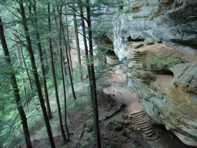 Trails around Old Man's Cave image. Click for full size.