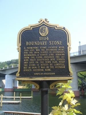 1804 Boundary Stone Marker image. Click for full size.