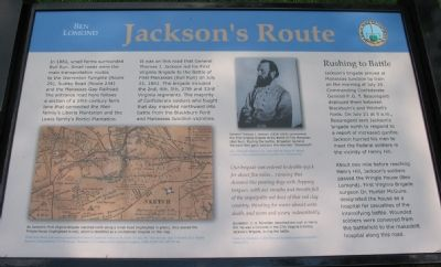 Jackson's Route Marker image. Click for full size.