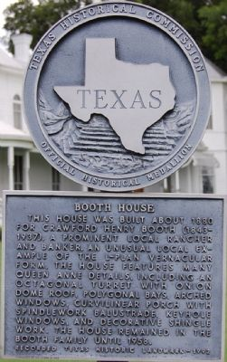 Booth House Marker image. Click for full size.