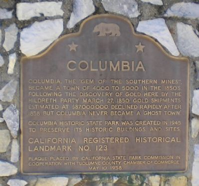 State Historic Landmark #123 Marker Photo, Click for full size