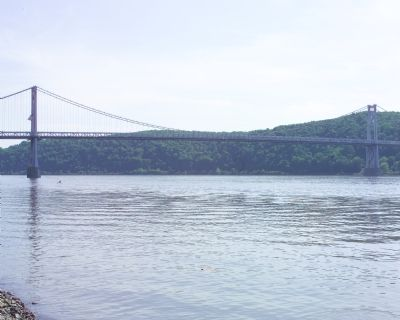 Hudson River and Mid Hudson Bridge image. Click for full size.