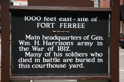 Fort Ferree Marker image. Click for full size.