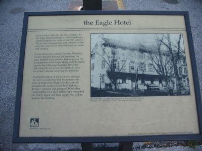 the Eagle Hotel Marker image. Click for full size.