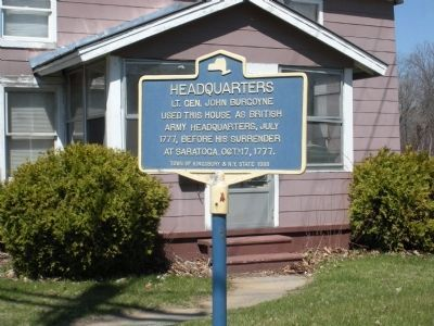 Headquarters Marker Photo, Click for full size