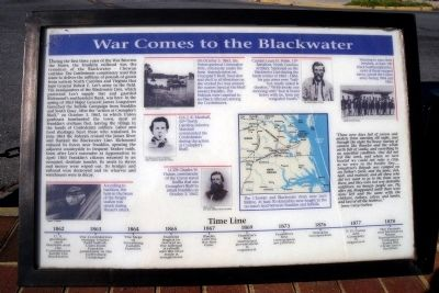 War Comes to the Blackwater Marker image. Click for full size.