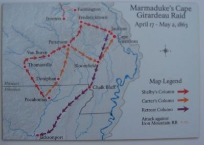 Marmaduke's Raid Campaign Map image. Click for full size.
