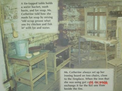 Part of Ms. Catherine's House sign image. Click for full size.