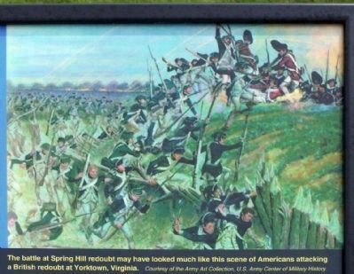 The Battle of Savannah upper right picture image. Click for full size.