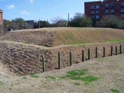 The Battle of Savannah - a typical redoubt the American forces faced image. Click for full size.