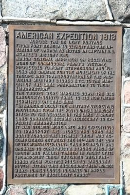 American Expedition 1813 Marker image. Click for full size.