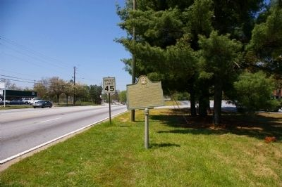 Site of Couch House Marker image. Click for full size.