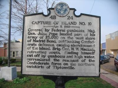 Capture of Island No. 10 Marker image. Click for full size.