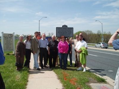 Dedication of the Harry Dorsey Gough Marker image. Click for full size.