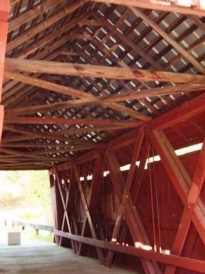 Campbell's Covered Bridge Photo, Click for full size