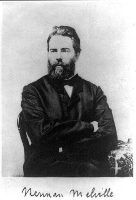 Herman Melville (1819–1891) image. Click for full size.