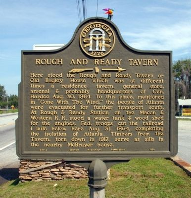 Rough and Ready Tavern Marker image. Click for full size.