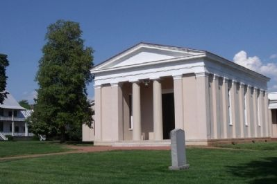 The Powhatan County Court House image. Click for full size.