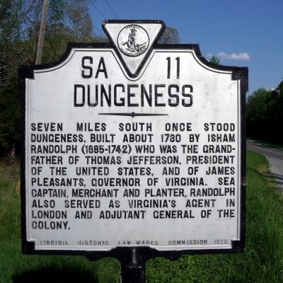 Dungeness Marker Photo, Click for full size