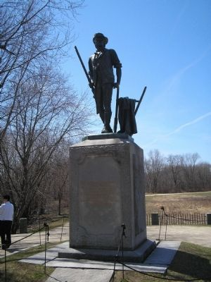 Concord Minute Man Statue Photo, Click for full size