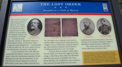 The Lost Order Marker image. Click for full size.