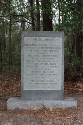 John Jacob Heyer Marker Photo, Click for full size
