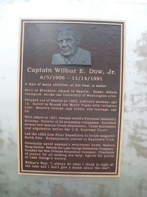 Captain Wilbur E. Dow, Jr. image. Click for full size.