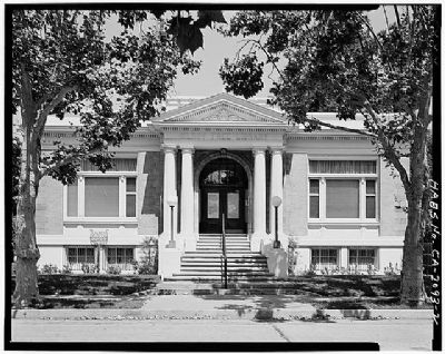 Gilroy Carnegie Library image, Click for more information