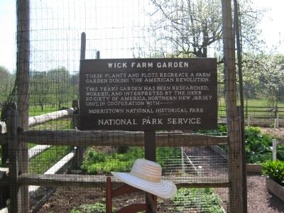 Wick Farm Garden Marker image. Click for full size.