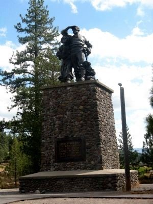 Donner Monument image. Click for more information.