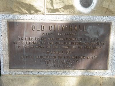 Old City Hall Marker Photo, Click for full size