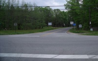 Willis Church Road (facing south). image. Click for full size.